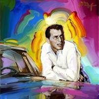 Artist Peter Max Creates Works for SINATRA: AN AMERICAN ICON in NYC