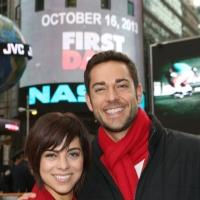FREEZE FRAME: Cast of FIRST DATE Rings the Closing Bell at NASDAQ