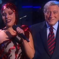 VIDEO: Tony Bennett and Lady Gaga Perform 'Cheek to Cheek' on COLBERT REPORT