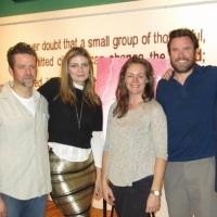 Photo Flash: Mischa Barton Visits Bedlam's SAINT JOAN & HAMLET