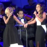 STAGE TUBE: Sneak Peek - Kristin Chenoweth and Lea Michele Perform 'For Good' at the Hollywood Bowl!