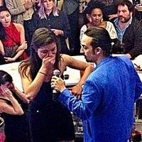 HAMILTON's Lin-Manuel Miranda Shares Emotional Off-Broadway Closing Night Rap With Cast