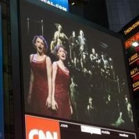 Photo Flash: SIDE SHOW Broadcasts Opening Night Act I Finale in Times Square!