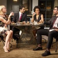 Photo Flash: First Look at Hari Dhillon, Gretchen Mol, Karen Pittman and Josh Radnor in Broadway's DISGRACED