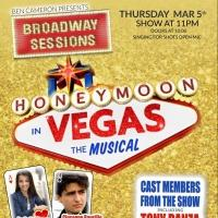 Tony Danza and HONEYMOON IN VEGAS Cast Set for Tonight's BROADWAY SESSIONS