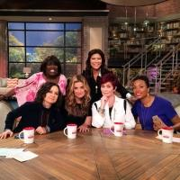 PHOTO: First Look - Idina Menzel Stops By THE TALK on CBS!
