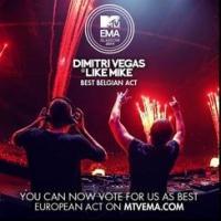 Dimitri Vegas & Like Mike Win 'Best Belgian Act' at MTV's EMAs; Voting Open for 'Best European Act'