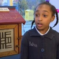 STAGE TUBE: 8-Year-Old Shares Passion for Books