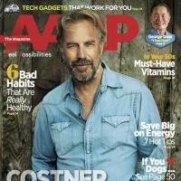 Kevin Costner Talks Family, Film & More in New AARP Magazine Interview