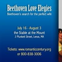 The Ensemble for the Romantic Century Presents BEETHOVEN LOVE ELEGIES, Now thru 8/3