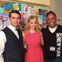 First Look - Chace Crawford, Dianna Agron Film GLEE's 100th Episode