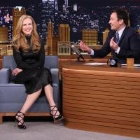 VIDEO: Jimmy Fallon Reveals He Blew a Chance to Date Nicole Kidman on TONIGHT
