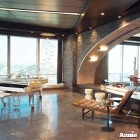 Inside Benjamin Stacks's Ultra-Hip Penthouse In New ANNIE Movie