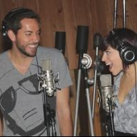 Photo Coverage: In the Recording Studio with Zachary Levi, Krysta Rodriguez & the Cast of FIRST DATE!