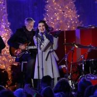 Photo Flash: First Look - Idina Menzel Performs on NBC's CHRISTMAS IN ROCKEFELLER CENTER