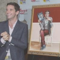 Photo Coverage: Michael Urie Celebrates Birthday at Tony's Di Napoli with Portrait Unveiling!