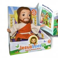 JESUS SEES US Doll and Book Launches for Christmas