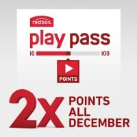 Redbox Play Pass Gives Members Double Points in December