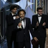 Inarritu's BIRDMAN Wins Best Screenplay at Golden Globes: 'Mr Michael Keaton, Wow!'