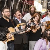 Photo Coverage: ONCE Cast Thanks Fans with Special Outdoor Performance!