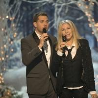 Photo Flash: First Look - Barbra Streisand Performs on MICHAEL BUBLE'S CHRISTMAS IN NEW YORK