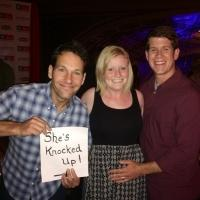 'Knocked Up' Star Paul Rudd Helps Lucky Couple Announce Pregnancy!