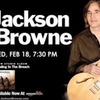 Jackson Browne to Return to the King Center, 2/18