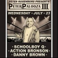 Schoolboy Q, Rise Against and More Set for PETERPALOOZA III at Best Buy Theater, Beg. 7/22