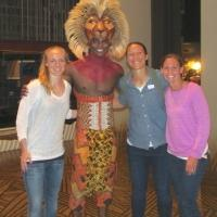 Photo Flash: US Women's National Soccer Team Visits THE LION KING