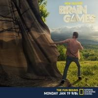 Nat Geo to Premiere New Season of BRAIN GAMES, 1/19