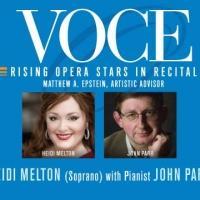 Schimmel Center to Welcome Soprano Heidi Melton for 'VOCE' Series, 5/17