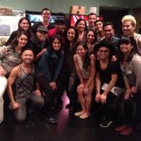 Photo Flash: Spike Lee Visits HERE LIES LOVE
