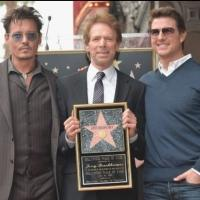 Photo Flash: LONE RANGER Producer Jerry Bruckheimer Honored with Hollywood Walk of Fame Star