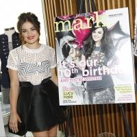 mark's Brand Ambassador Lucy Hale Celebrates It's 10 Years of Beauty