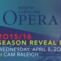 The North Carolina Opera Presents Its 2015/16 Season Reveal Party, 4/8