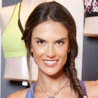 Alessandra Ambrosio Shows Off New Victoria's Secret Sport Bra