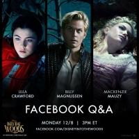 INTO THE WOODS Round-Up! Billy Magnussen, Lilla Crawford & Mackenzie Mauzy Answer Fan Questions