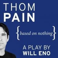 BWW Reviews: Sideways Storytelling: Santa Barbara Museum of Art Presents THOM PAIN {BASED ON NOTHING}