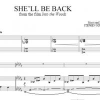 Sheet Music Now Available for the New and CUT Song from the INTO THE WOODS Film - 'She'll Be Back'!