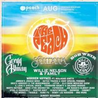 Gregg Allman, Willie Nelson Among 4th ANNUAL PEACH FESTIVAL Lineup