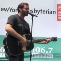BWW TV: ONCE's Ben Hope and Jessie Fisher Fall Slowly Into Bryant Park!