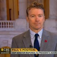 Sen Paul Rand (R) Talks State of the Union Address on CBS