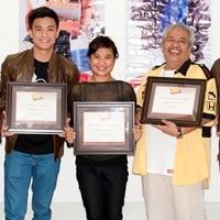 Photo Coverage: Eugene Domingo, Edgar Allan Guzman Accept BWW Awards