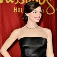 Madame Tussauds Hollywood Revealed Anne Hathaway Wax Figure