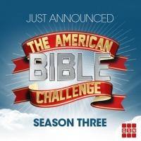 GSN Greenlights Third Season of AMERICAN BIBLE CHALLENGE