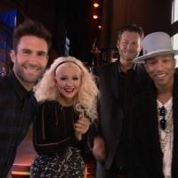 VIDEO: First Look - Christina Aguilera Returns for 8th Season of THE VOICE