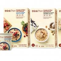 thinkThin' Expands into New Category, Launches Protein & Fiber Hot Oatmeal