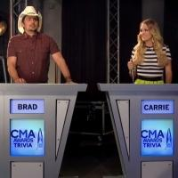 Brad Paisley and Carrie Underwood to Return as Hosts of CMA AWARDS; Watch Official Announcement!