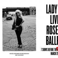 LADY GAGA Announces Additional North American Tour Dates; Reveals Official Roseland Poster