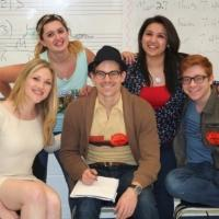 Photo Coverage: Cast Members of WICKED Visit Local High School